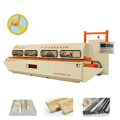 AUTOMATIC STONE MOULDING LINE PRODUCTION LINE (3+5 or 4+8 HEADS)