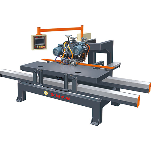 BT1200 BT1800 2 HEADS NC MANUAL TILE CUTTING MACHINE WITH TOUCH SCREEN