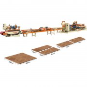 Ceramic tile cutting production line