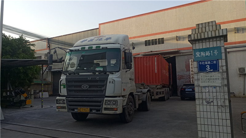 The second container in 2021 Baotao Machinery exports to Cyprus